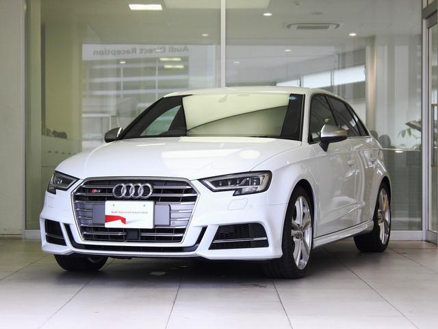 AUDI S SPORTBACK WHITE M Km Details Japanese - Audi s3 used cars