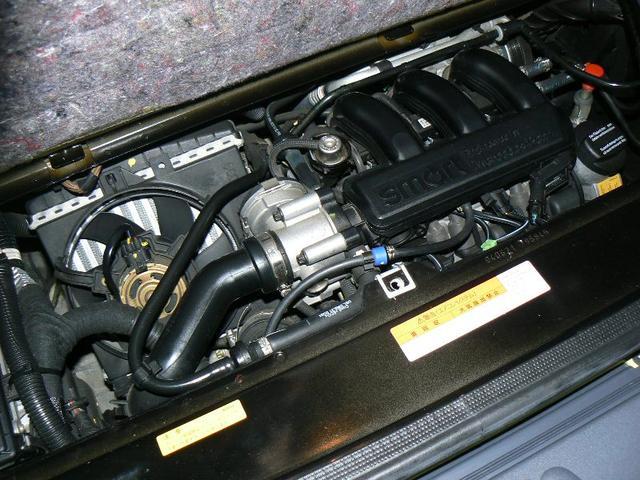55馬力(カタログ値)ツインスパークターボエンジン