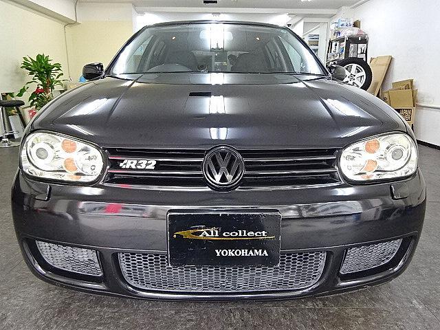 フォルクスワーゲン VW ゴルフ R32 社外マフラー ローダウン レカロ 6速MT