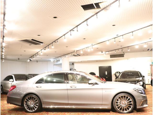 メルセデス・ベンツ M・ベンツ S550L 白本革 マジック付 S65