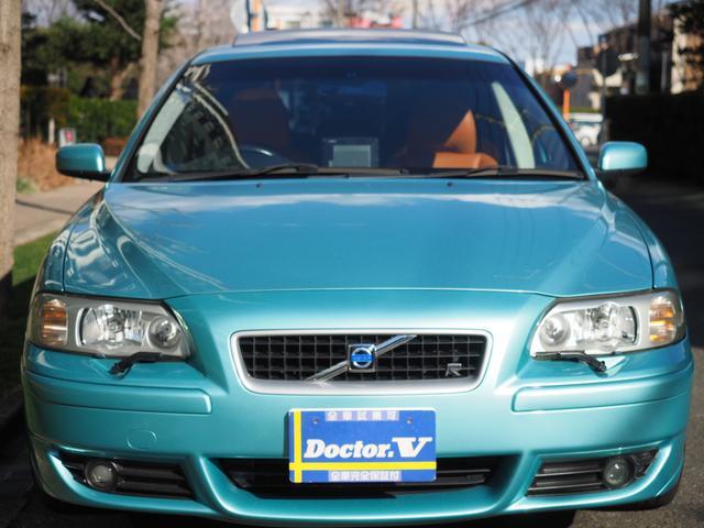 ボルボ ボルボ V70 R 特別限定車 タン革 当店買取 記録簿 モール同色塗装済