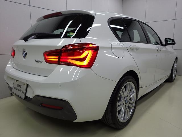 118d Mスポーツ 後期モデル 正規認定中古車(2枚目)