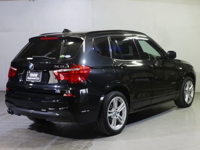 BMW BMW X3 xDrive 35i Mスポーツ サンルーフ ブラックレザー
