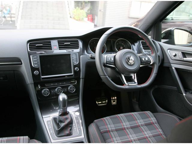 フォルクスワーゲン VW ゴルフGTI ベースグレード 純正ナビ ETC Bセンサー
