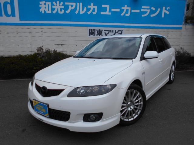 Mazda Atenza Sport Wagon 23s 2005 Pearl White 53000 Km