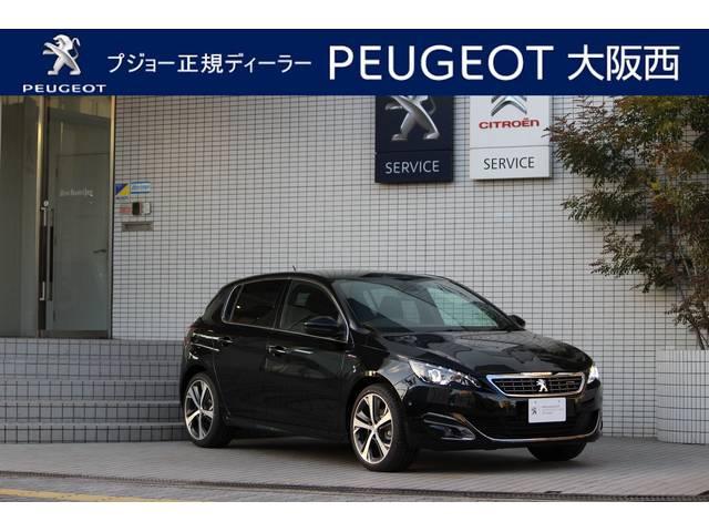 プジョー GTライン 新車保証継承 デモカーアップ