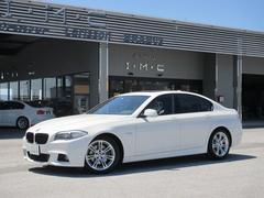 BMW528i Mスポーツ 左H 黒革シート サンルーフ 1オーナ