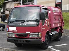 エルフトラック塵芥車 天然ガス車 最大積載2000kg