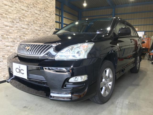 トヨタ 240G Lパッケージ 黒革 HDDナビ パワーシート
