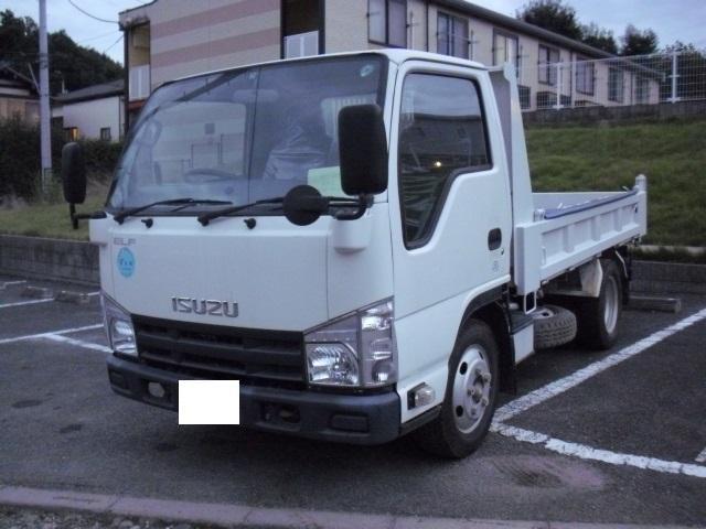 いすゞ エルフトラック フラットローダンプ 最大積載2000kg ...