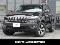 クライスラージープ チェロキートレイルホーク 新車保証継承 自社ユーザー買取車両