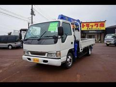 新潟県の中古車ならアトラストラック 3t FJL ワイドロング 6段クレーン付