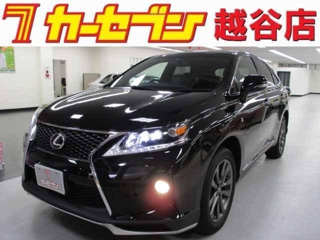 レクサス RX 350Fスポーツ4WDサンルーフ黒革純正HDDナビ...