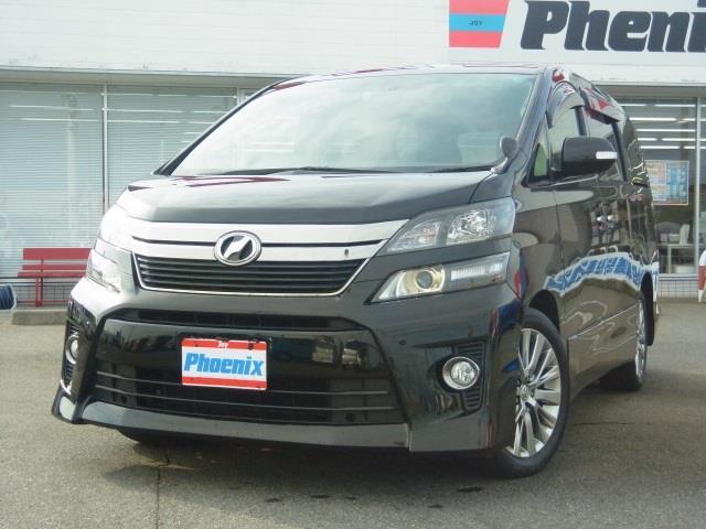 トヨタ 2.4Zゴ-ルデンアイズ純正HDDフルセグナビ両側電動スラD
