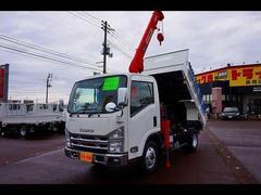 エルフトラック2.75t 標準セミロング ダンプ/クレーン付