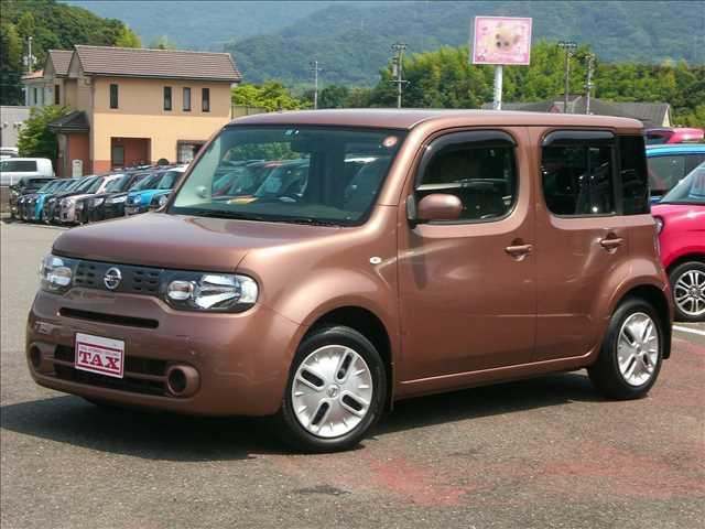nissan cube 15x 2013 brown m 52,305 km details japanesenissan cube 15x 2013 brown m 52,305 km details japanese used cars goo net exchange
