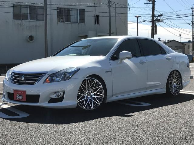 トヨタ ベースグレード ワンオーナー 本革 SR 新品車高調・アルミ