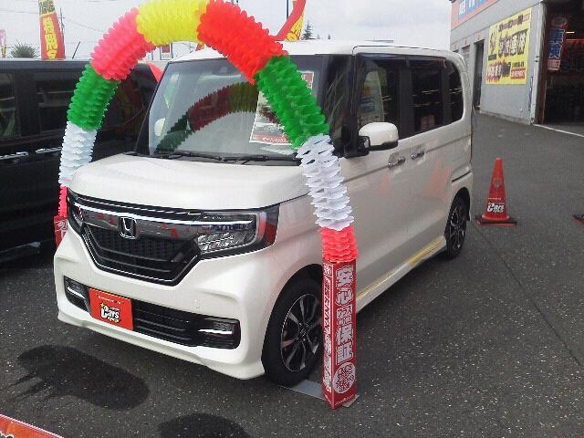 N BOXカスタム(ホンダ) G・EXホンダセンシング 中古車画像