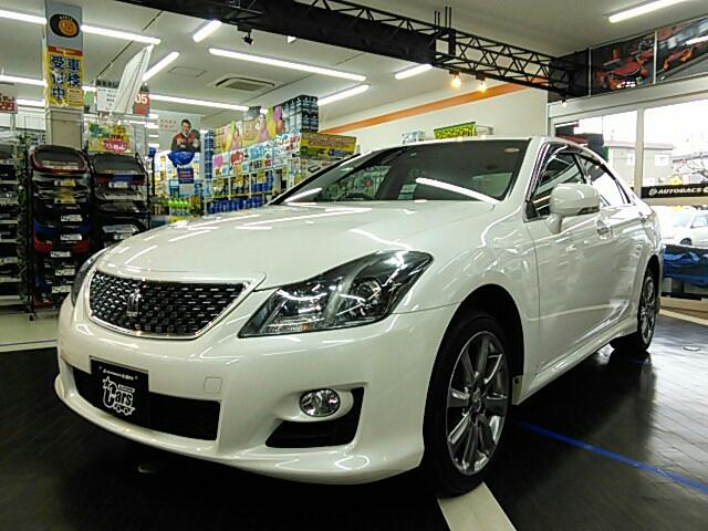 Photo of TOYOTA CROWN 2.5 ATHLETE I-FOUR NAVI PACKAGE / used TOYOTA