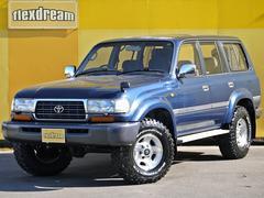 ランドクルーザー80VX ガソリンマニュアル ワンオーナー オリジナル車両