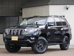ランドクルーザープラドTX L 7人乗り 本革シート メーカーOP込み 即納車可能