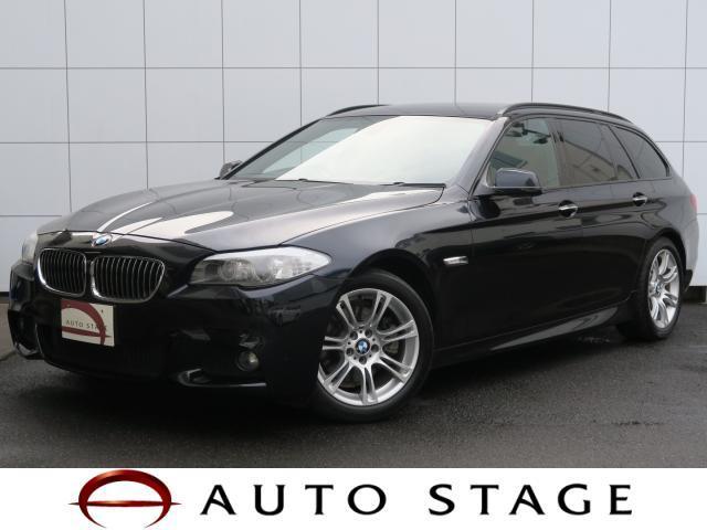 BMW 5シリーズ 523iツーリング MスポーツPKG 純正HD...