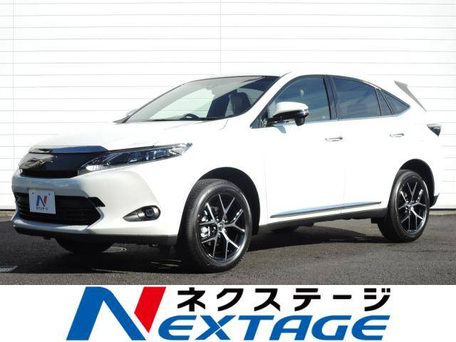 Photo of TOYOTA HARRIER PREMIUM STYLE ASH / used TOYOTA