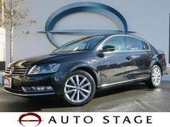 VW パサートTSIハイラインブルーモーションT ベージュ本革 1オーナー