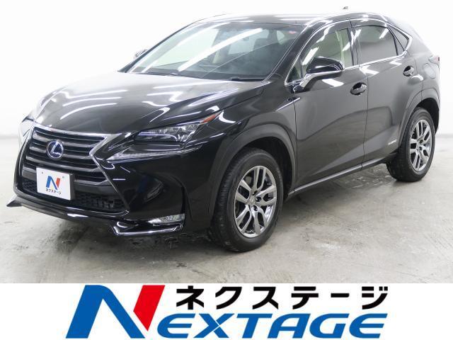 レクサス NX NX300h バージョンL 4WD 純正SDナビ ...