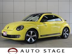 VW ザ・ビートルターボ サンルーフ 黒革 純正メモリーナビ スマートキー