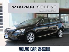 ボルボ V40D4 インスクリプション 認定中古車 純正HDD 本革シート