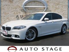 BMW523i Mスポーツ 1オーナー 黒革 フルセグTV ACC
