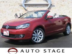 VW ゴルフカブリオレベースグレード 2012モデル HDDナビ フルセグ 白革