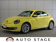 VW ザ・ビートルデザインレザーパッケージ 純正ナビ フルセグ 黒革 キセノン