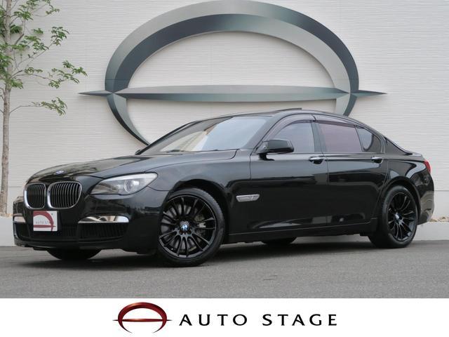 BMW 750i Mスポーツパッケージ 黒革 SR 専用19アルミ