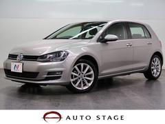 VW ゴルフTSIハイラインブルーモーションテクノロジー ACC 禁煙車