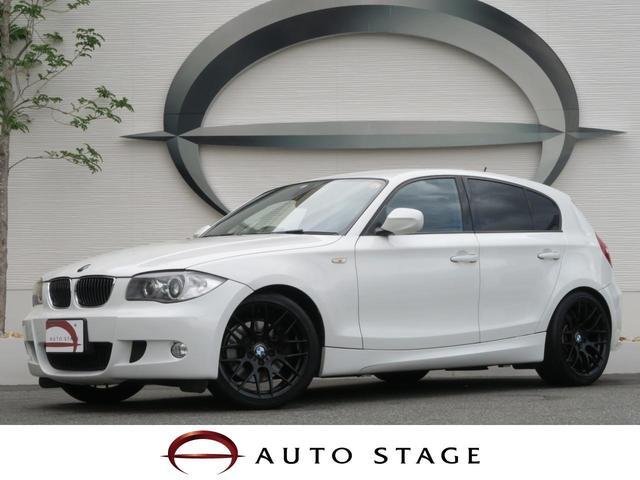 BMW 130i 純正HDDナビ i-Drive 黒革 パワーシート