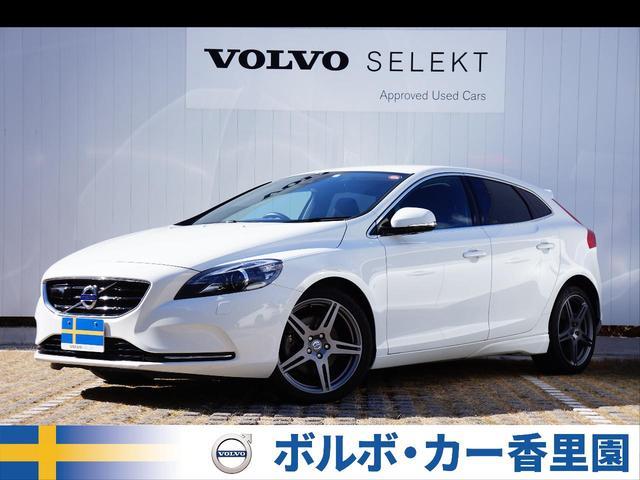 ボルボ V40 T4 スポーツ 認定車 スタイルPKG 純正ナビ ...