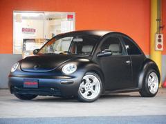 VW ニュービートルプラス 全塗装オリジナル色 本革 社外AW ローダウン