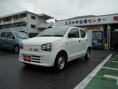 沖縄の中古車 スズキ アルト 車両価格 67万円 リ済別 平成28年 0.7万K スペリアホワイト