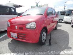 沖縄の中古車 スズキ アルト 車両価格 69万円 リ済別 平成28年 0.5万K ピュアレッド