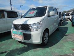 沖縄の中古車 スズキ ワゴンR 車両価格 93万円 リ済別 平成28年 1.6万K クリスタルホワイトパール