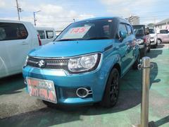 沖縄の中古車 スズキ イグニス 車両価格 145万円 リ済別 平成28年 0.8万K ネオンブルーメタリック