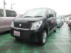 沖縄の中古車 スズキ ワゴンR 車両価格 105万円 リ済別 平成28年 0.3万K ブルーイッシュブラックパール3