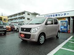 沖縄の中古車 スズキ ワゴンR 車両価格 93万円 リ済別 平成28年 0.8万K イノセントピンクパールメタリック