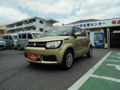 沖縄の中古車 スズキ イグニス 車両価格 118万円 リ済別 平成28年 0.6万K ヘリオスゴールドパールメタリック