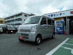 沖縄の中古車 スズキ エブリイ 車両価格 97万円 リ済別 平成28年 0.8万K シルキーシルバーメタリック