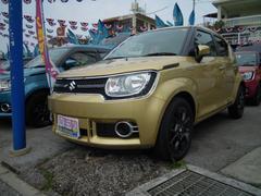 沖縄の中古車 スズキ イグニス 車両価格 139万円 リ済別 平成28年 53K ヘリオスゴールドパールメタリック
