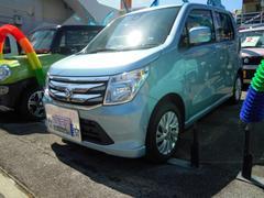 沖縄の中古車 スズキ ワゴンR 車両価格 120万円 リ済別 平成28年 0.3万K フィズブルーパールメタリック