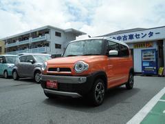 沖縄の中古車 スズキ ハスラー 車両価格 150万円 リ済別 平成28年 0.8万K パッションオレンジ ホワイト2トーンルーフ